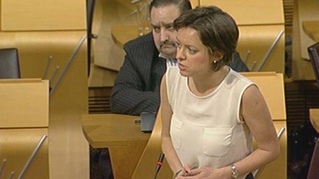 Scottish Labour MSP Jenny Marra