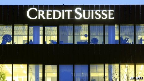 Credit Suisse offices in Zurich