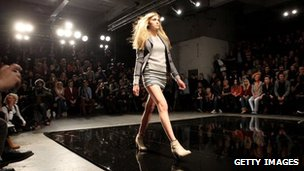 The Superdry catwalk