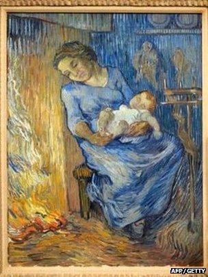 Vincent Van Goghs L'Homme est en mer (1889)