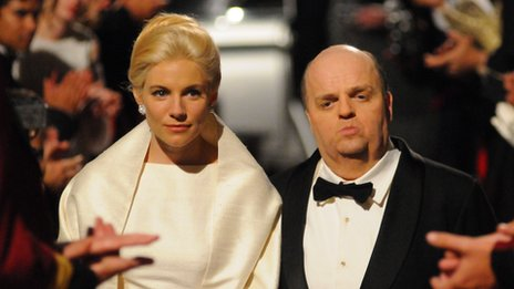 Sienna Miller and Toby Jones