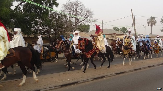 A celebration in Bauchi, where people guard their traditions, and their religion, strongly