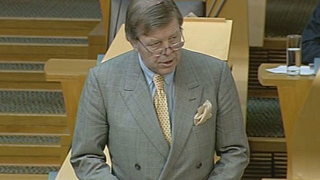 Scottish Conservative MSP Cameron Buchanan