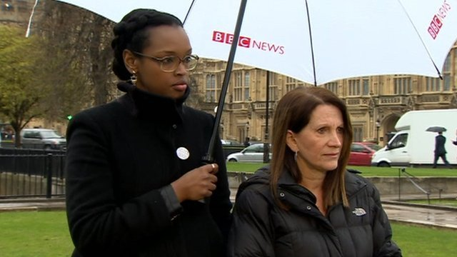 Nimko Ali and Lynne Featherstone