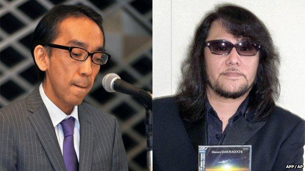 Takashi Niigaki and Mamoru Samuragochi