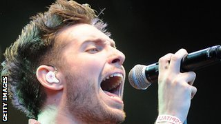 You Me At Six singer Josh Franceschi