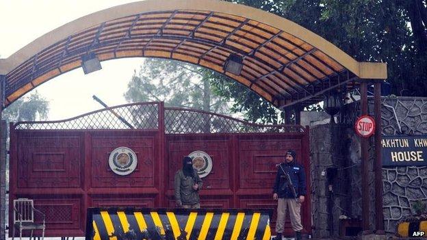Khyber Pakhtunkhwa House in Islamabad, 6 Feb