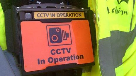 Personal CCTV body camera