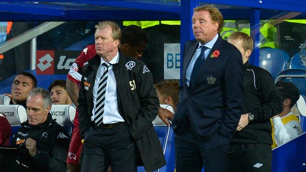 Steve McClaren and Harry Redknapp