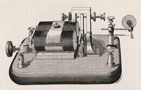 Telegraph receiver, 1860