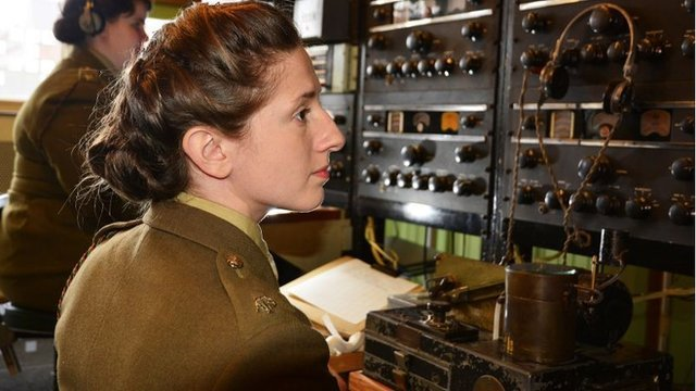 A re-enactment of the breaking of the German Lorenz machine code at Bletchley Park