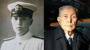 Mariko's grandfather, Kenkichi Matsuo
