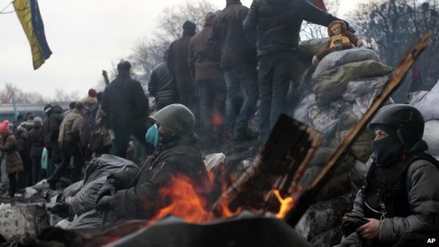 Protests in Kiev, 6 Feb