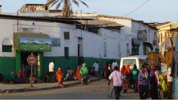 Djibouti street scene