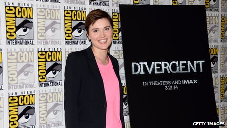 """Divergent"" author Veronica Roth"