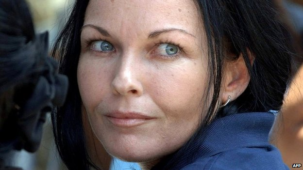 Australian drug smuggler Schapelle Corby pictured at a ceremony inside Kerobokan prison in Denpasar on the Indonesian resort island of Bali on 22 April 2008