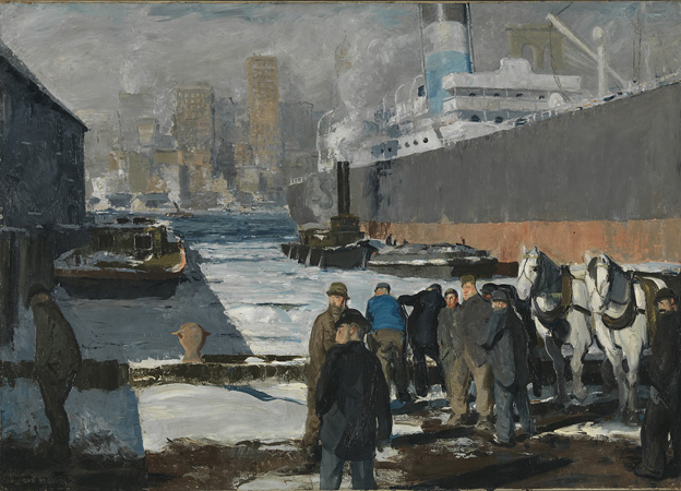 Men of the Docks, 1912, by George Bellows