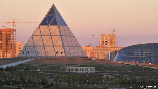 The Palace of Peace and Reconciliation in Astana