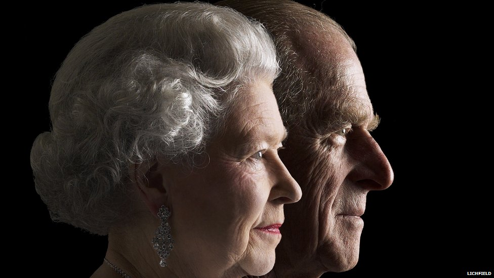 The Queen and HRH The Duke of Edinburgh