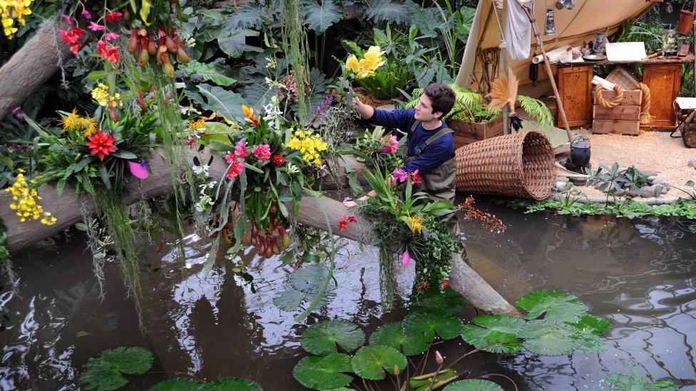 Orchids plant hunters 39 paradise at kew bbc news for Jardines de orquideas
