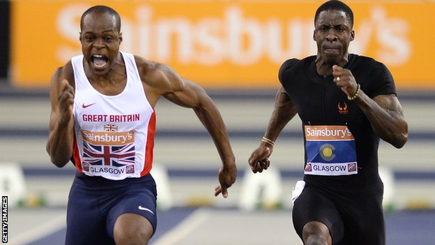 James Dasaolu beats Dwain Chambers in January