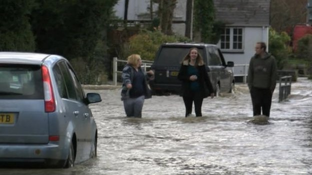 Flooding in Chalgrove