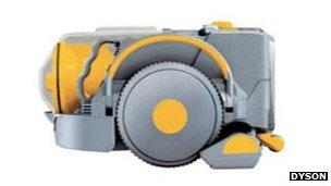 Dyson's DC06 prototype