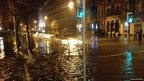 Flood water in Cork