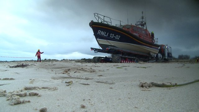 The RNLI's new Shannon class lifeboat