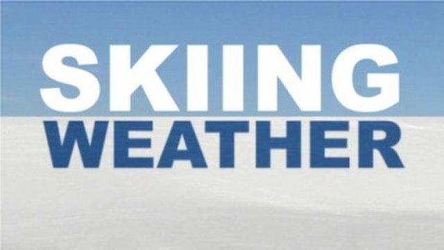 Skiing weather