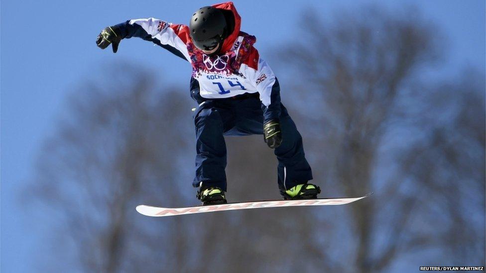 Jamie Nicholls British snowboarder