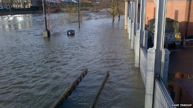 Floods in Shrewsbury
