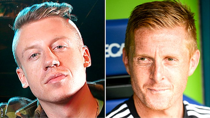 Macklemore and Garry Monk
