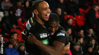 Leroy Cudjoe and Jermaine McGillvary