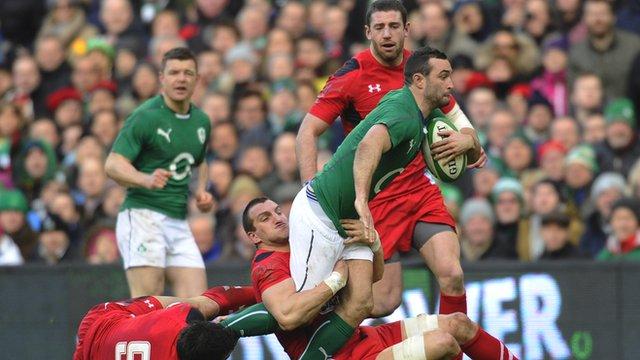 Ireland 26-3 Wales