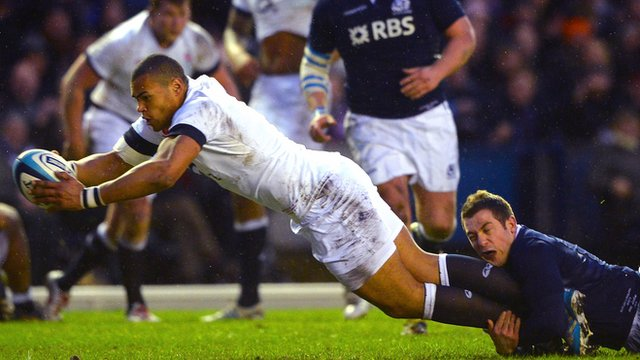 England centre Luther Burrell