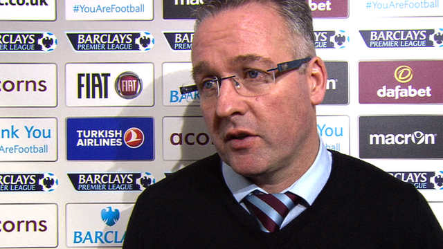 Paul Lambert discusses Aston Villa's 2-0 loss to West Ham United
