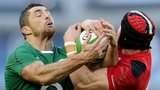 Rob Kearney and Leigh Halfpenny
