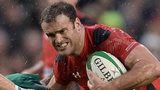 Jamie Roberts takes on Ireland
