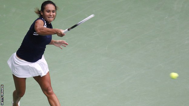Britain's Heather Watson