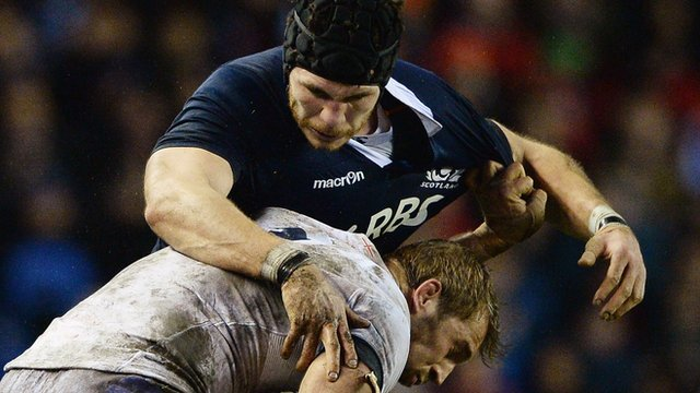 Scotland lock Tim Swinson
