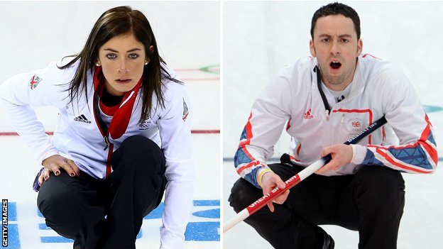 Eve Muirhead and David Murdoch
