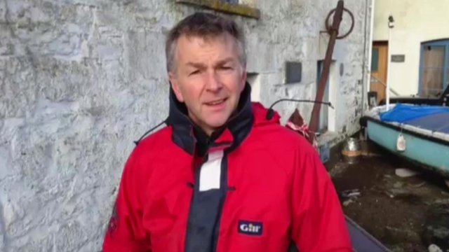 Porthleven boat owner Jeremy Richards