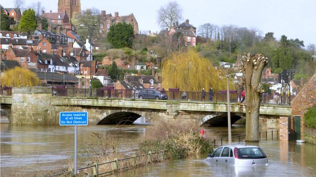 Bridgnorth floods