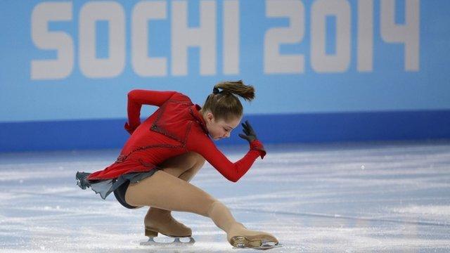 Russia's Yulia Lipnitskaya