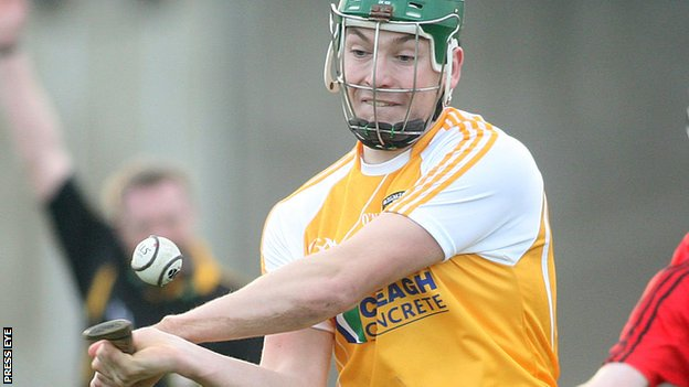Antrim man Paul Shiels scored Ulster only goal against Leinster