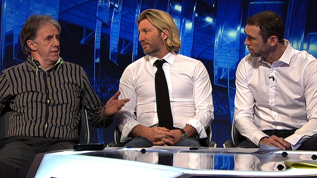 Mark Lawrenson, Robbie Savage, Martin Keown