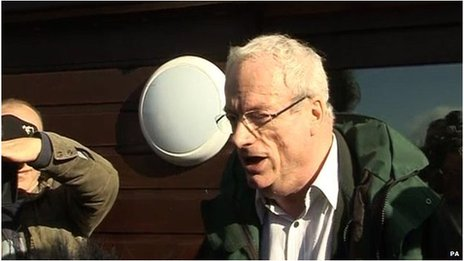 Lord Smith had a boisterous reception when he visited flooded parts of the Somerset Levels this month