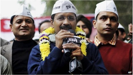 Arvind Kejriwal has promised to put an end to corruption in Delhi