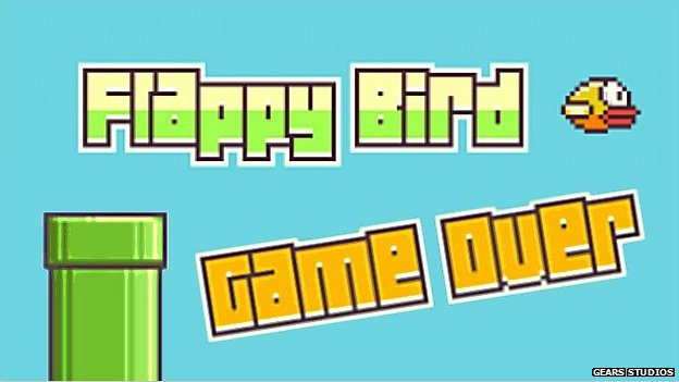 Flappy Bird graphics